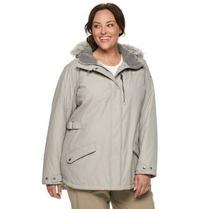 Columbia Grey Thermal Coat 3X